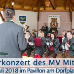 Termintipp: Sommerkonzert des MV Mitterbach