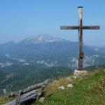 Bild der Woche: Bichleralpe Gipfelkreuz