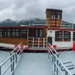 Neues Ausflugsschiff am Erlaufsee von Alfred Fleissner