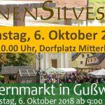 Termintipps 6.10. >> Bauernmarkt und Bienensilvester