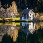 Bild der Woche: Hubertussee-Spiegelung