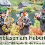 Termintipp: Weisenblasen am Hubertussee | 7. Okt. 2018