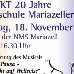 Termintipp: FESTAKT 20 Jahre Musikschule Mariazellerland