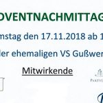 Termintipp: Adventnachmittag in Gußwerk