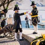 Friedenswallfahrt von Traditionsverbänden nach Mariazell