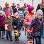 Martinsfeier mit Laternenfest in Mariazell 2018 – Fotos