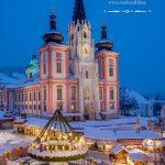 Frohe Weihnachten 2018 wünscht www.mariazell.blog