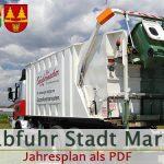 Mitteilung Stadtgemeinde - Müllabfuhr Halltal