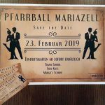 Termintipp: Pfarrball Mariazell 2019