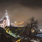 Mariazell zu Silvester 2018/19 - Fotos um Mitternacht