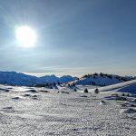 Bild der Woche:  Winter auf der Zeller Staritzen
