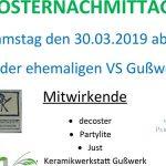Termintipp: Osternachmittag in der ehemaligen VS Gußwerk