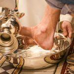 Fußwaschung am Gründonnerstag 2019 in der Basilika Mariazell