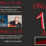 Termintipp: 10 Jahre Sportredia mit Grenzgang und Harry Prünster