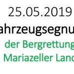 Termintipp: Fahrzeugsegnung der Bergrettung Mariazellerland