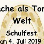 Termintipp: VS Mariazell Schulfest - Sprache als Tor zur Welt