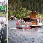 Schiffstaufe und Jungfernfahrt am Erlaufsee