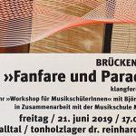 Brücken 2019 | >>Fanfare und Parade<< in Halltal