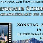 """ORFIII Filmpräsentation """"Vom Mariazellerland ins Ennstal"""""""