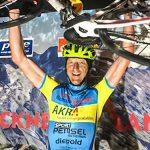Manfred Tod errang 2. Platz bei der Ultraradmarathon Weltmeisterschaft