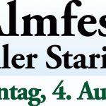 Termintipp: Almfest auf der Zeller Staritze