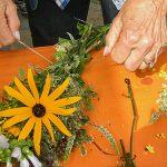 Kräuterbüscherl binden - Maria Himmelfahrt