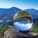 Bild der Woche: Mariazellerland durch die Glaskugel