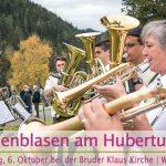 Termintipp: Weisenblasen am Hubertussee | 6. Okt. 2019