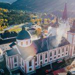 Großübung der Feuerwehren: Brand in der Basilika Mariazell