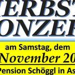 Termintipp: Herbstkonzert des MV-Aschbach 2019