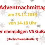 Termintipp: Adventnachmittag in Gußwerk 2019