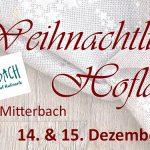Termintipps: Weihnachtlicher Hofladen und Räucherkurs in Mitterbach