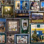 24 Fenster vom begehbaren Adventkalender beim Mariazeller Advent