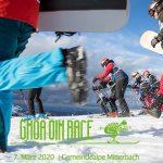 Das Gmoa Oim Race 2020 zieht zum 6. Mal seine Schwünge!