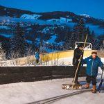 Bild der Woche: Vorbereitung Naturbahnrodel Junioren-WM