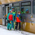 Bild der Woche: Mit der Himmelstreppe zu den Skibergen