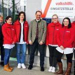 Bürgermeister Kleinhofer besucht die Volkshilfe