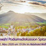 Podiumsdiskussion der Gemeinderatswahl-Kandidaten in Mariazell