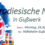Termintipp: Parodiesische Nacht in Gußwerk