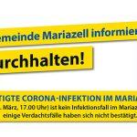 Coronavirus (COVID-19) | Stadtgemeinde Mariazell – Neueste Infos 19.3.2020