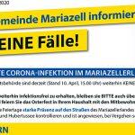 Coronavirus (COVID-19) | Stadtgemeinde Mariazell – Neueste Infos 10.04.2020
