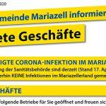 Coronavirus (COVID-19) | Stadtgemeinde Mariazell – Neueste Infos 17.04.2020