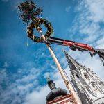 Mariazell - Maibaumaufstellen 2020 in Corona-Zeiten