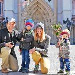 Palmsonntag in Mariazell in der Coronakrise - Fotos