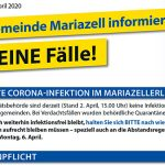 Coronavirus (COVID-19) | Stadtgemeinde Mariazell – Neueste Infos 02.04.2020