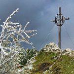 Bild der Woche: Gemeindealpe Gipfel mit Eisheiligen-Kälte