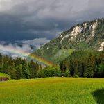Bild der Woche: Regenbogen in Greith