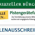 Stellenausschreibung | Pistengerätefahrer*in - Bürgeralpe Mariazell