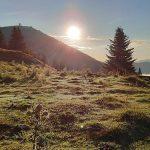 Bild der Woche: Morgenstimmung am Brunnstein