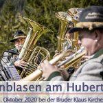 Termintipp: Weisenblasen am Hubertussee | 4. Okt. 2020